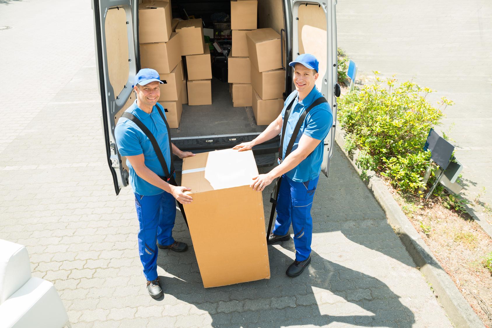 schwere Pakete versenden
